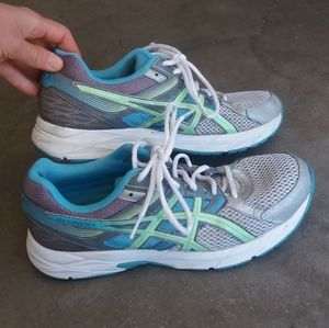 Very clean asics gel content 3 running shoes